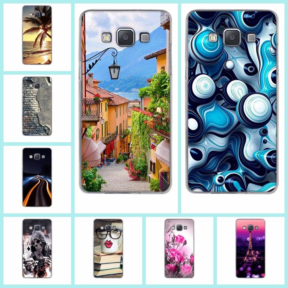 TPU Soft Case For Samsung Galaxy A5 2015 A500 Phone Case Silicone TPU Back Cover Cover For Samsung Galaxy A5(2015) Phone Bags