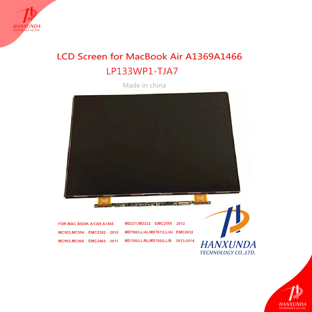 Hanxunda Original LED Glass 13.3 inch for Macbook Air 13