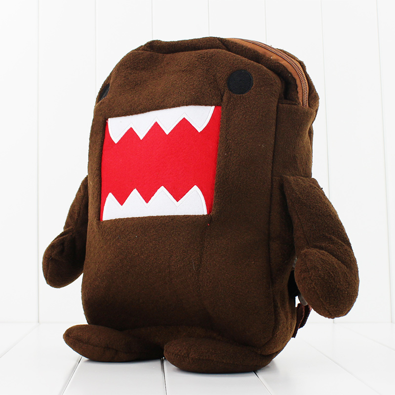 Kawaii 38cm Soft Domo Kun Backpack Plush for childrens Gift Free shipping