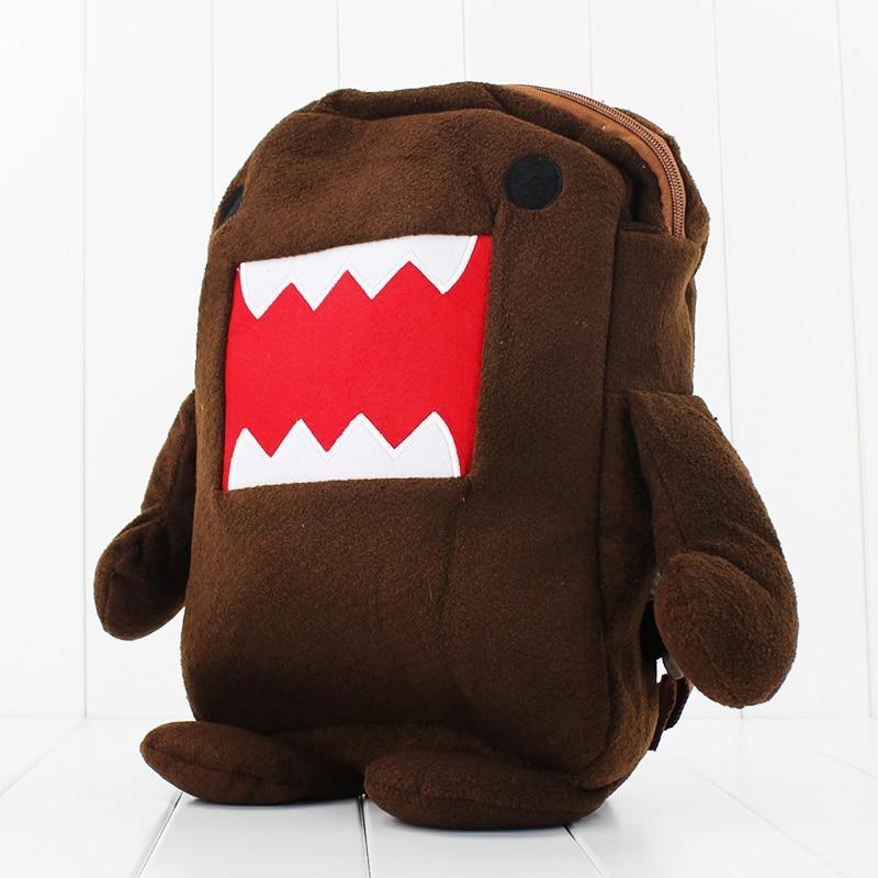Kawaii 38cm Soft Domo Kun Backpack Plush for childrens Gift Free shipping