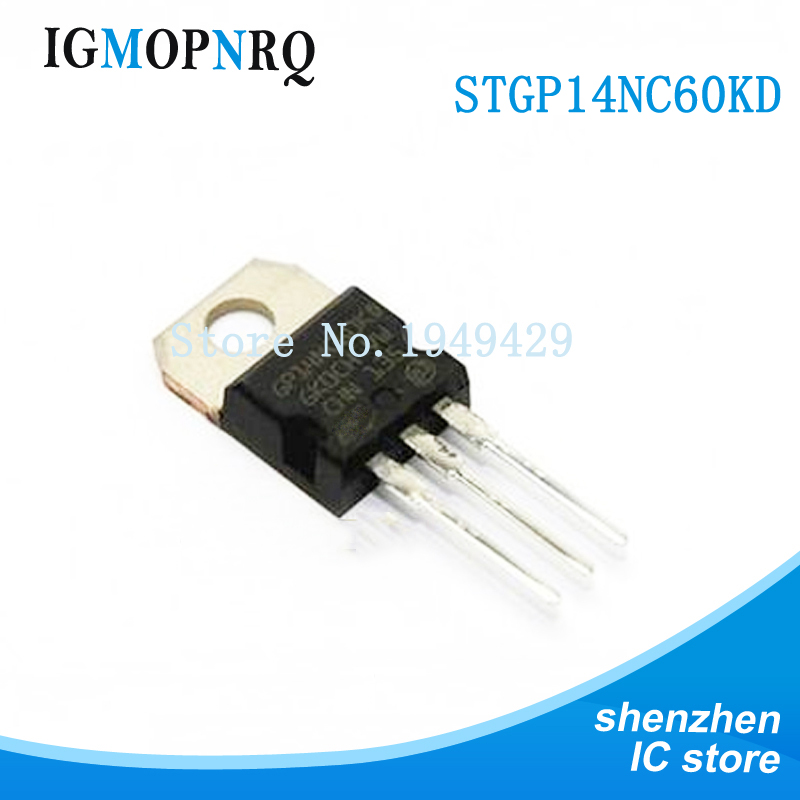 Free shipping 5pcs/lot GP14NC60KD STGP14NC60KD TO-220 new original