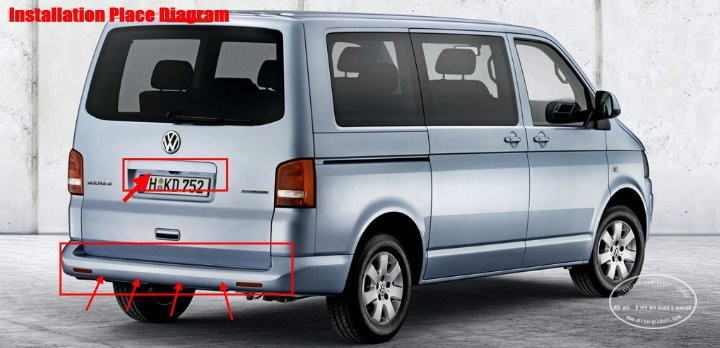 Volkswagen-Transporter-T5-BIBI Alarm Parking System