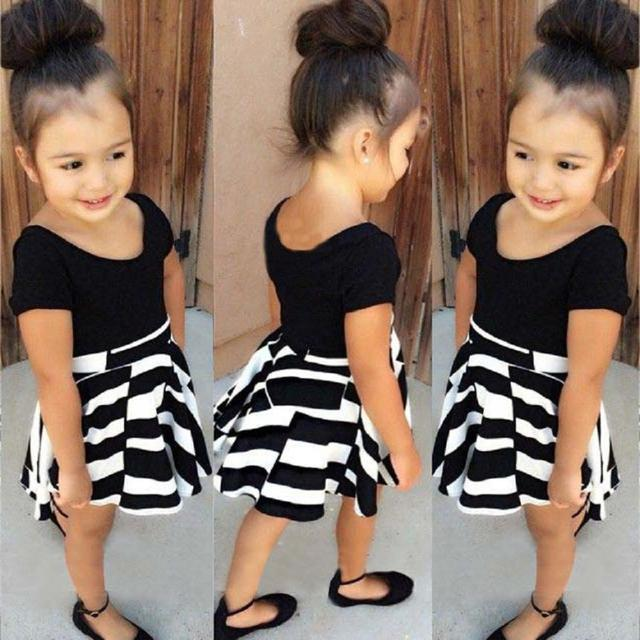 mother daughter dresses clothes toddler girl clothing 2 pcs Shirt and Skirt girls boutique clothing vetement fille good