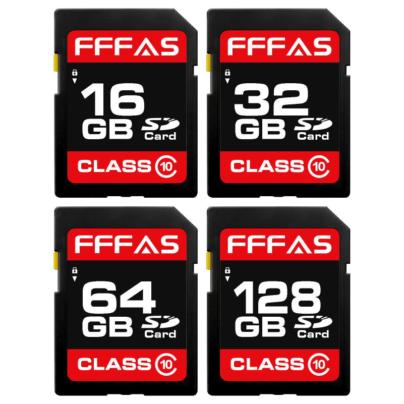 Hot Perfessional SD Card 8GB 16GB 32GB Class10 SDHC 64GB 128GB 256GB Class10 SDXC High speed for camera(China)