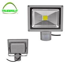 220 v 110 v levaram luzes de inundação ao ar livre dc12v sensor lamp10w holofote 20 w 30 w 50 w pir motion sensor de refletor foco holofotes
