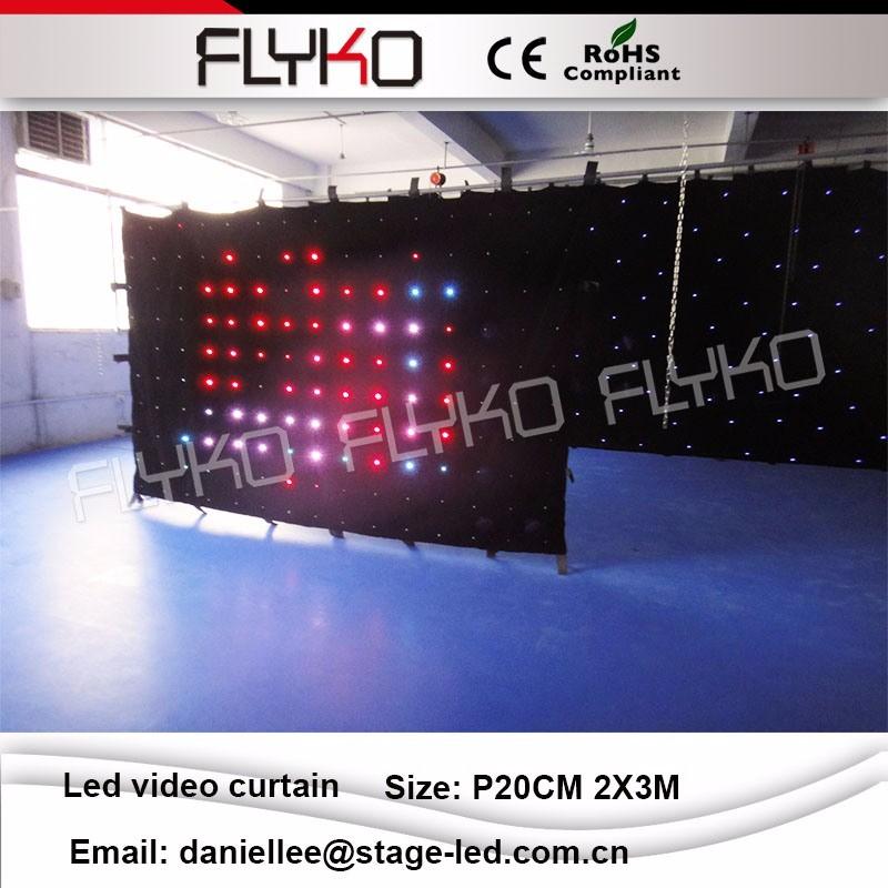 LED video curtain 79