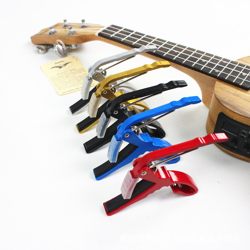 acoustic guitar capo small grasping capo guitar accessories in guitar parts accessories from. Black Bedroom Furniture Sets. Home Design Ideas