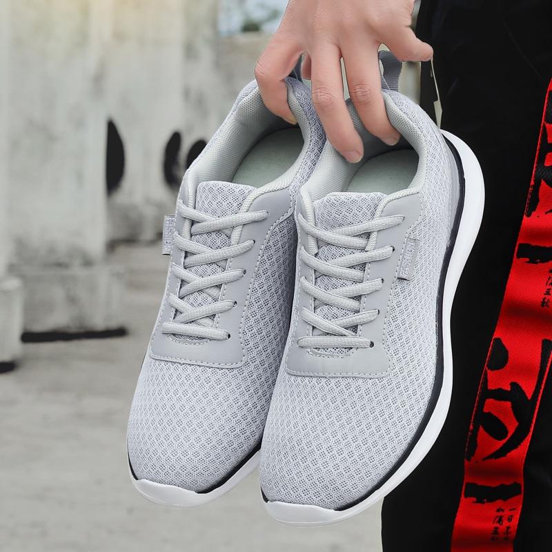 Men Ultra Light Sneakers Adult Casual Shoes Skateboard