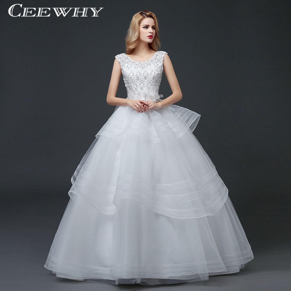 Popular Wedding Ball Gown White-Buy Cheap Wedding Ball Gown White ...