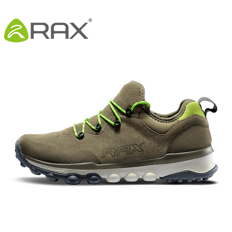 RAX Women hiking shoes Waterproof Outdoor Sport Shoes Men Trainers Hiking Shoes Woman Sneakers Suede leater walking shoes 2017brand sport mesh men running shoes athletic sneakers air breath increased within zapatillas deportivas trainers couple shoes