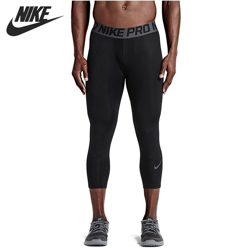 Original New Arrival 2017 NIKE NP TGT GFX 3/4 Length Men's Running Tights Sportswear nike леггинсы nike leg a see aop tgt lg