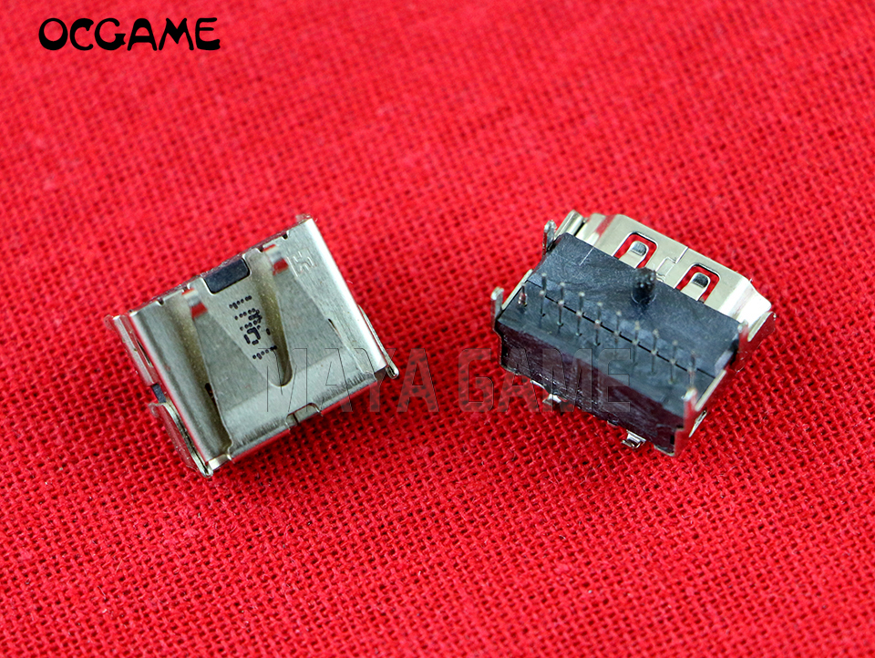 5PCS/LOT Original Connector For Play Station <font><b>3</b></font> PS3 Slim <font><b>3000</b></font> 4000 HDMI Port Socket Interface OCGAME image