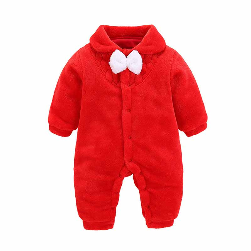 BONJEAN Spring Baby Rompers Baby Boy Clothes Newborn Clothing Flannel Baby Girl Clothes Roupas Bebe Infant Baby Jumpsuits
