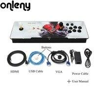 Onleny 875 в 1 дизайн дома Мультиплеер Аркада игровой консоли контроллера Комплект двойной джойстик для ТВ мониторы Best подарок