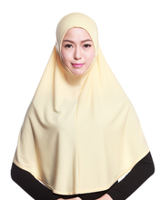 H991a latest big size plain muslim hijab,muslim scarf,free shipping,can choose colors