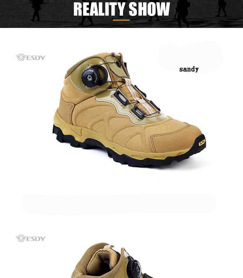 e99cf10abb3 HOT SALE] Men Winter Tactical Ankle Boots Fashion Black Lace Up ...