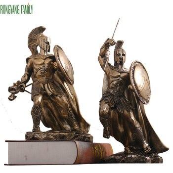 Antik Roma Süs Heykel Orta Çağ Karakter Heykeli Reçine Masaüstü Adalet Savaşçı Figürleri Ev Ofis El Sanatları Süslemeleri