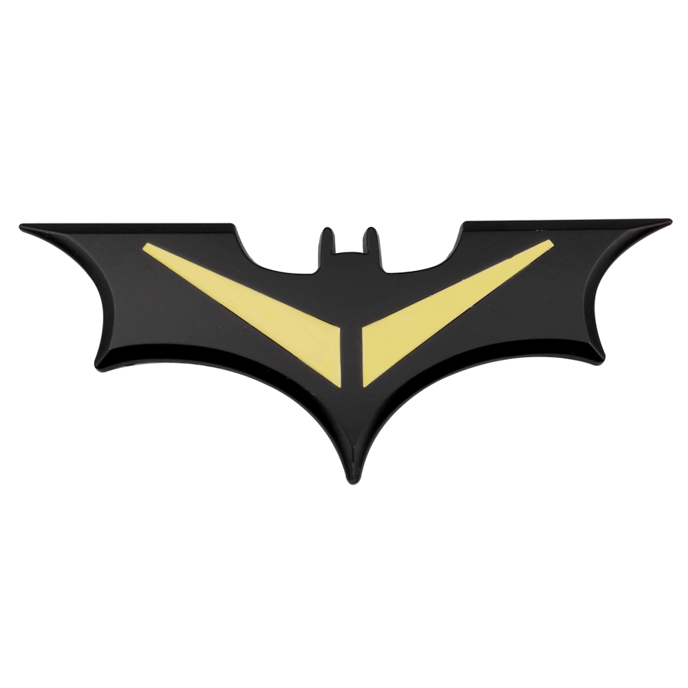 3D Car Stickers Cool Metal Bat Auto Logo Car Styling Badge Emblem Tail Decal Motorcycle Car Accessories Automobiles