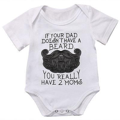 79ddf7db2 New Hot baby unisex Funny Babygrow Clothes Newborn Baby Girl Boys ...