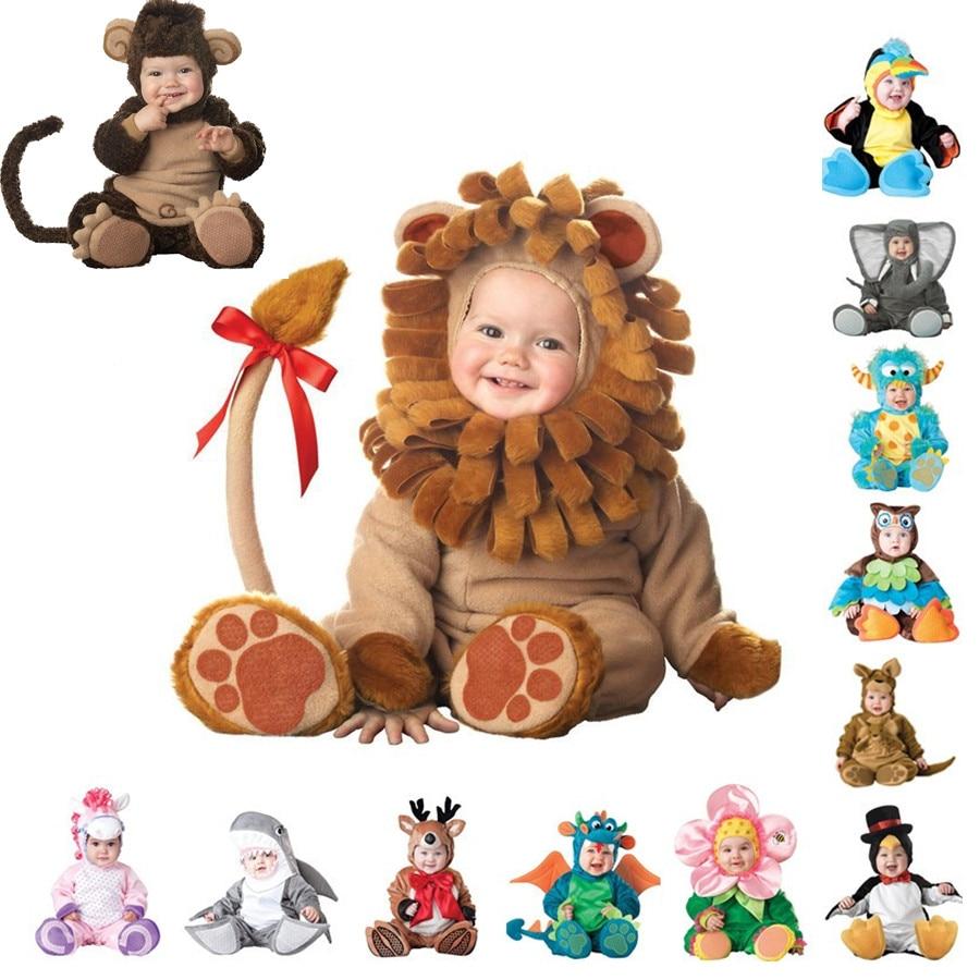 Top Quality <font><b>Baby</b></font> <font><b>Boys</b></font> <font><b>Girls</b></font> Halloween Monkey Dinosaur <font><b>Costume</b></font> Romper <font><b>Kids</b></font> <font><b>Clothing</b></font> <font><b>Set</b></font> Toddler Co-splay Triceratops