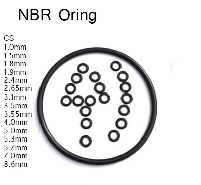 CS 5.0 mm NBR Rubber O ring,outer OD18 20 22 25 26 27 28 30 32 33 34 ...