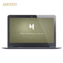 AMOUDO 14 inch 4GB Ram+64GB SSD+750GB HDD Intel Pentium Quad Core Windows 7/10 System 1920X1080P FHD Laptop Notebook Computer
