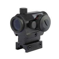 Тактический Охота Красный Зеленая точка Reflex Sight областей с высокой/низкая двойной профиль рейку Airsoft Air Пистолеты винтовка red dot областей.