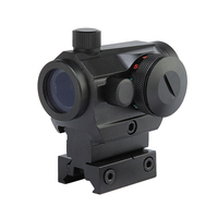 Tactical Hunting Red Green Dot Reflex Sight Scopes With High Low Dual Profile Rail Mount Airsoft