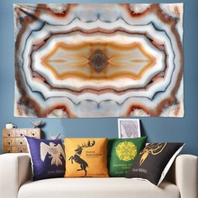 цены на Tile Texture Wall Art Hippie Tapestry Bohemia Wall Tapestry Hanging Boho Wall Carpet Background Cloth 3D Wall Painting 78.7x118