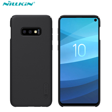 case for Samsung Galaxy S10e /S10 Lite NILLKIN Super Frosted Shield matte PC hard back cover gift phone holder