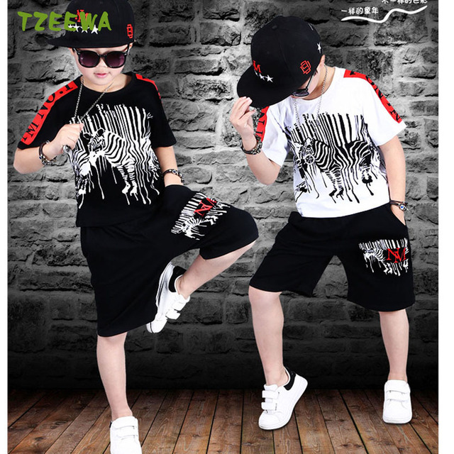 e0b6483fa6f Toddler Boys Clothing Set Vetement Enfant Garcon Fashion Boy Clothes  Hip-Hop Kids Clothing Sets Child Sports Suit