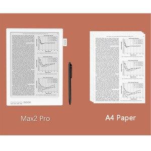 Image 4 - אוניקס BOOX MAX2 פרו ספר אלקטרוני קורא כפול מגע HD גמיש כרטא מסך ספר אלקטרוני קורא 4G/64G 13.3 BT 4.1 אנדרואיד 6.0 e קורא