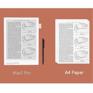 Image 4 - ONYX BOOX MAX2 PRO ebook Reader Doppel Touch HD Flexible Carta Bildschirm e book reader 4G/64G 13.3 BT 4,1 Android 6,0 e leser