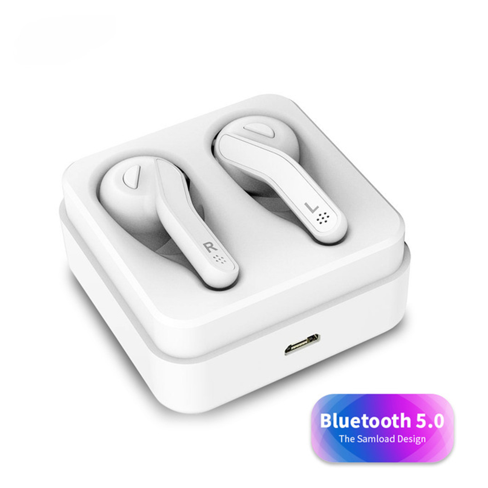 <font><b>T88</b></font> <font><b>TWS</b></font> Wireless Hifi Bluetooth headset stereo 3D sound For Phone Mic Mini Touch Control Wireless earphones With Charger Box image
