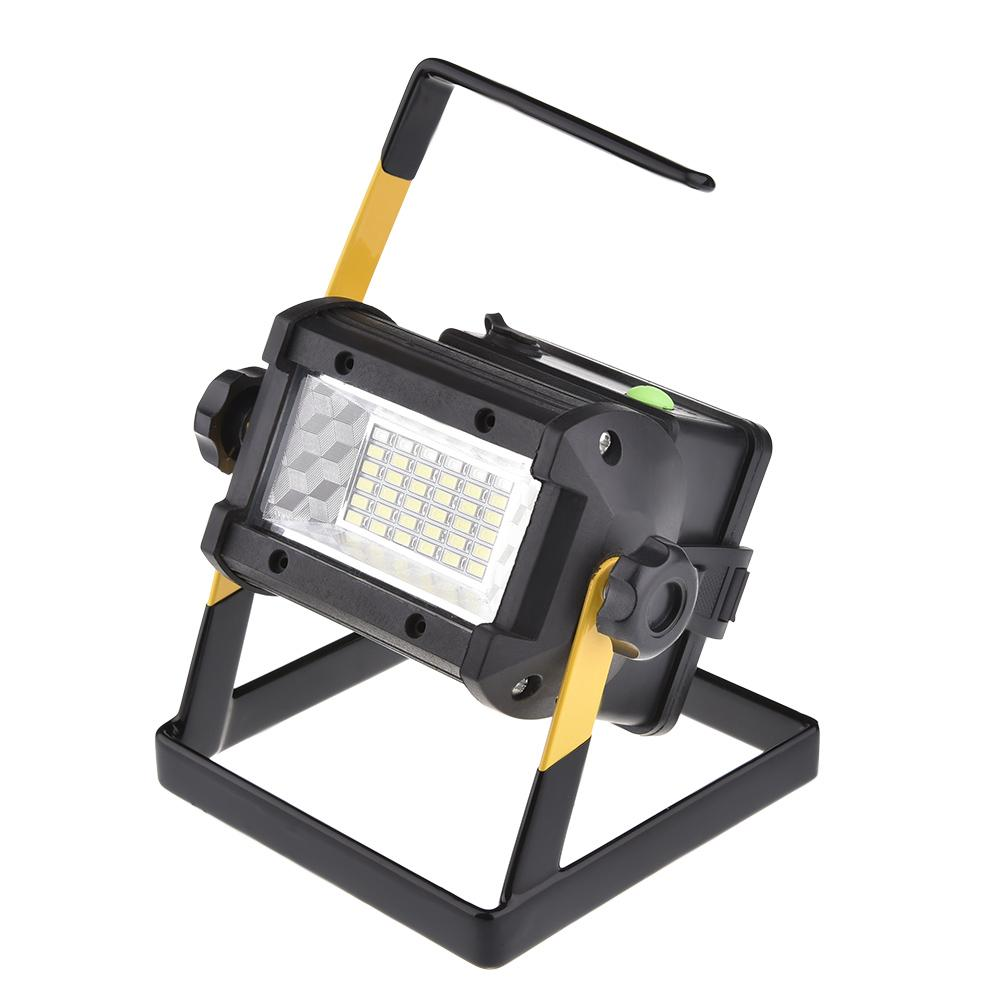 36LED Outdoor Spotlights 3 Modes Camping Light Flood Light Construction Site Working Portable Water Resistant Lamp Searchlight36LED Outdoor Spotlights 3 Modes Camping Light Flood Light Construction Site Working Portable Water Resistant Lamp Searchlight