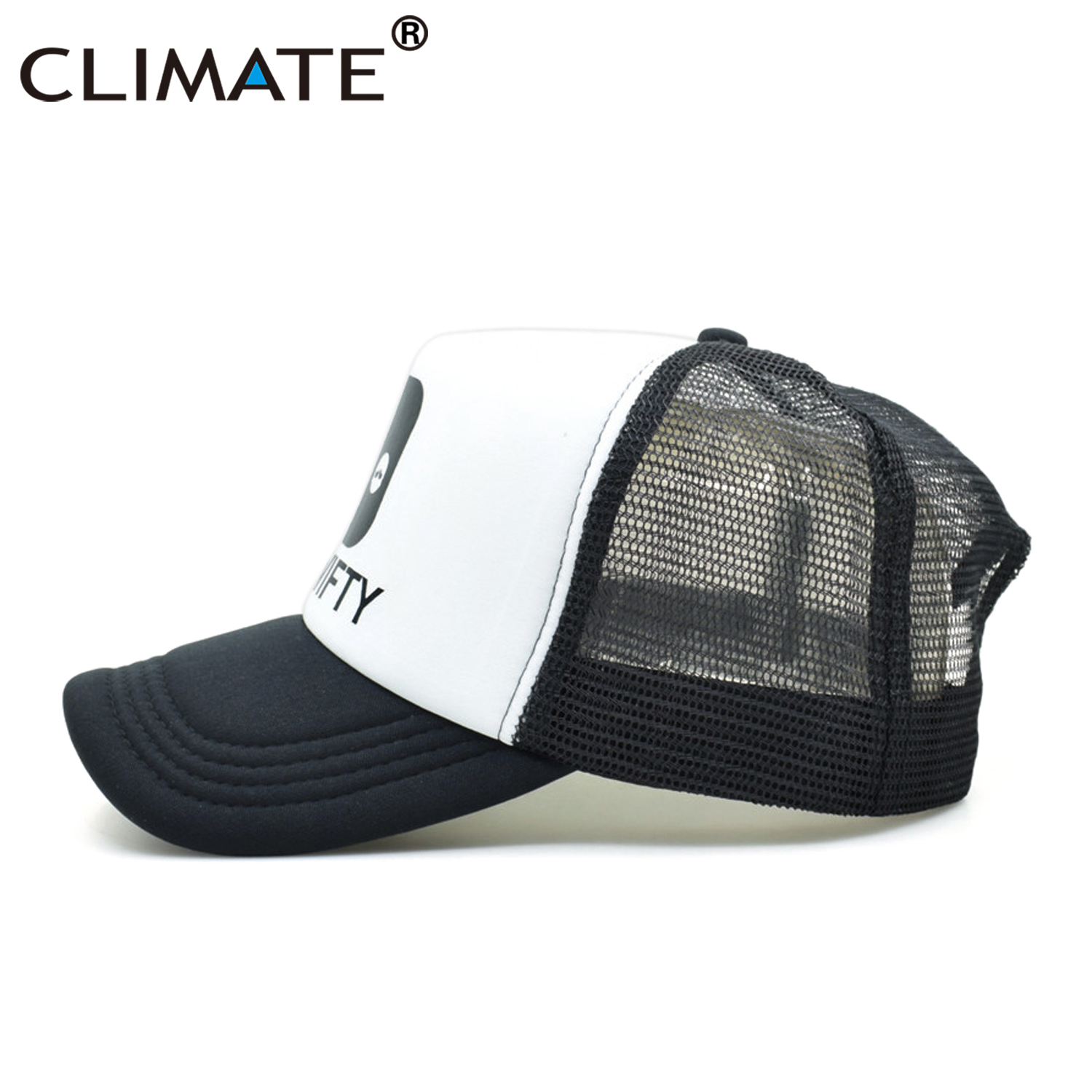 4101aa9c9a5 CLIMATE Men Women Rick and Morty Caps Get Schwifty Summer Trucker Caps Cool  Funny Rick Morty Baseball Mesh Net Cool Caps Hat-in Baseball Caps from  Apparel ...