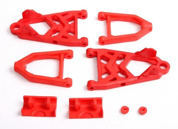 High strength nylon two generation enhanced front arm set fit hpi rovan km baja 5b toy parts freeshipping baja high strength nylon a arm group front and rear