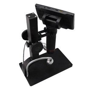Image 4 - Andonstar cyfrowy USB/HDMI/AV mikroskop ADSM302 5 cal wyświetlacz HD PCB lutowania THT SMD SMT narzędzie oprogramowanie pomiarowe