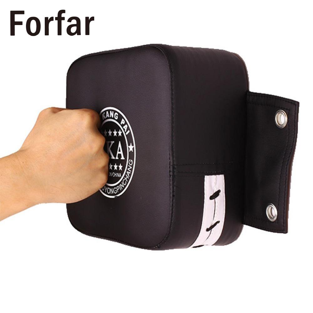 PU Sandbag Leather Wall Boxing Target Pad Fight Fighting Sanda Taekowndo Punching Training Bag Fitness For Men Women Kung Fu
