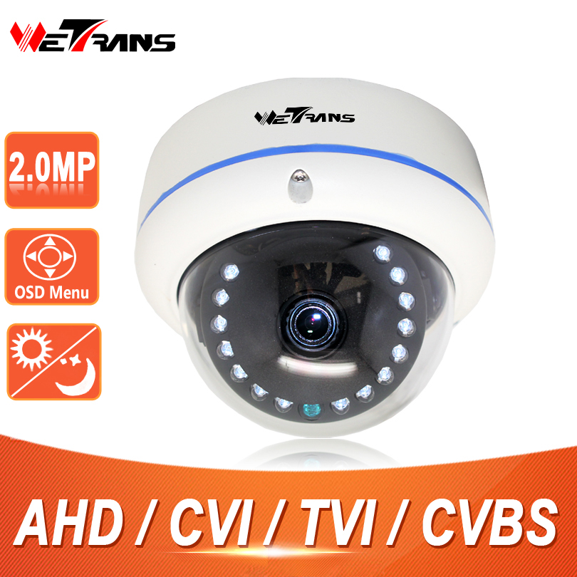 CCTV Camera Dome HD 2.0Megapixel Full HD 10m Night Vision 15 LEDS 2.8-12mm Varifocal Lens HD TVI HDCVI AHD Camera Vandalproof 4 in 1 ir high speed dome camera ahd tvi cvi cvbs 1080p output ir night vision 150m ptz dome camera with wiper