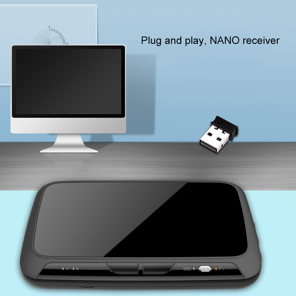 Image 2 - Backlight Wireless 2.4G Touchpad Keyboard Wireless Air Mouse for Smart TV Android Box PC Remote Controller-in Keyboard Mouse Combos from Computer & Office