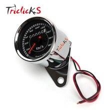 Universal 0-180km/h Led Digital Speedometer DC12V Motorcycle Gauge Dual Odometer Motorbike Backlight