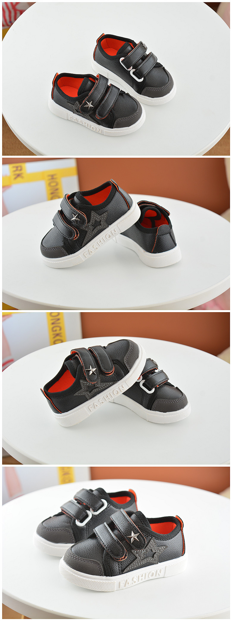 16 New Small Children Canvas Shoes For Kids Baby Boys Canvas Star Shoes Girls Flat Sneakers Low Casual School Students Shoes 3