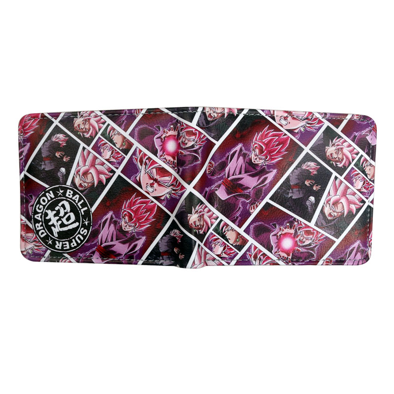 Violet Dragon Ball Super Wallet