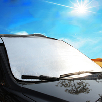 Unversal Car Windscreen Cover Heat Sun Shade Anti Snow Frost Ice Shield Dust Protector Aluminum Foil Car Window Cover