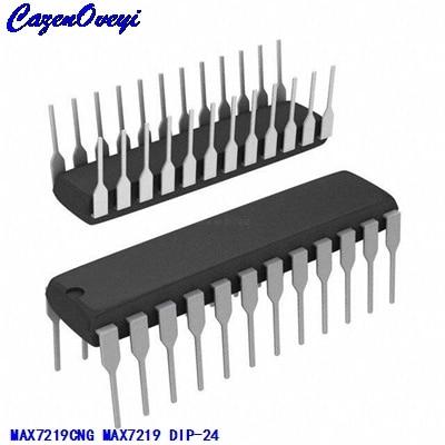 5pcs MAX7219CNG MAX7219 DIP-24 LED Display Driver IC
