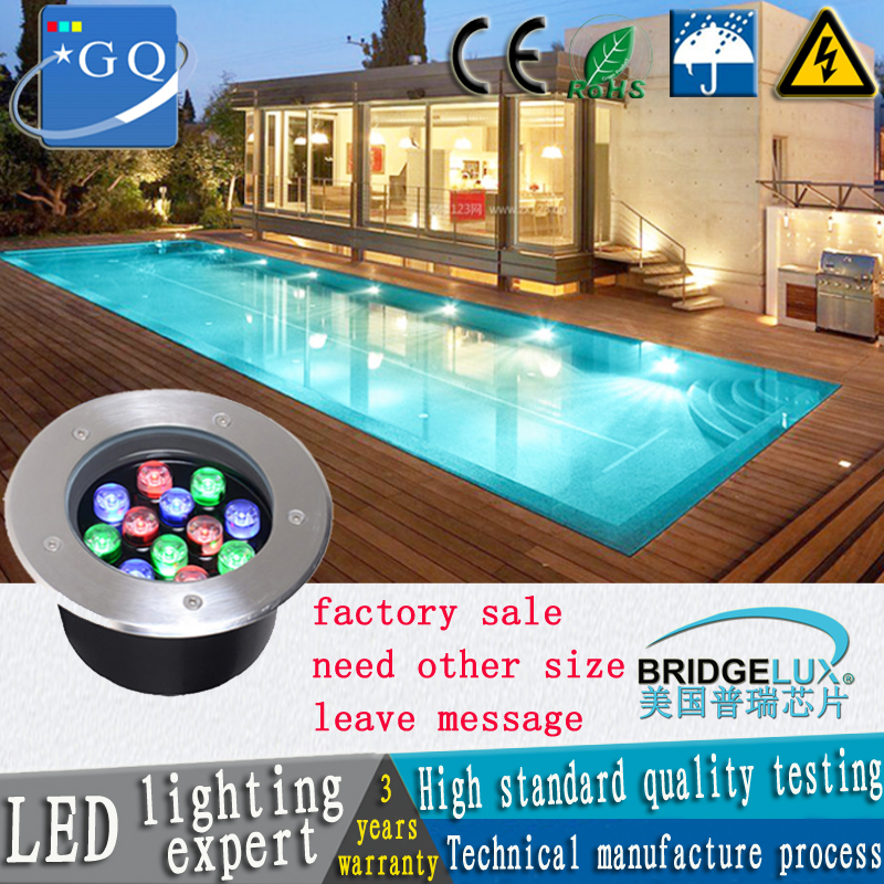 CP 1W3W6W7W9W12W15W36W LED Garden Light Led Buried Light  LED Underground Light  AC85-265V