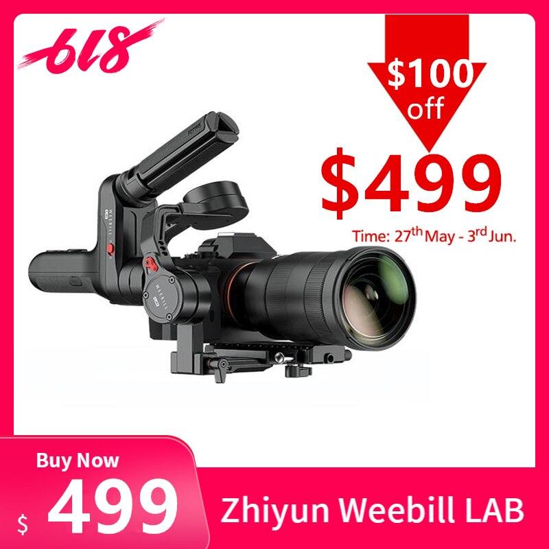 Zhiyun Weebill LABORATÓRIO 3-Eixo de Transmissão de Imagem Sem Fio Câmera Cardan Handheld Estabilizador para a Câmera Mirrorless Display OLED