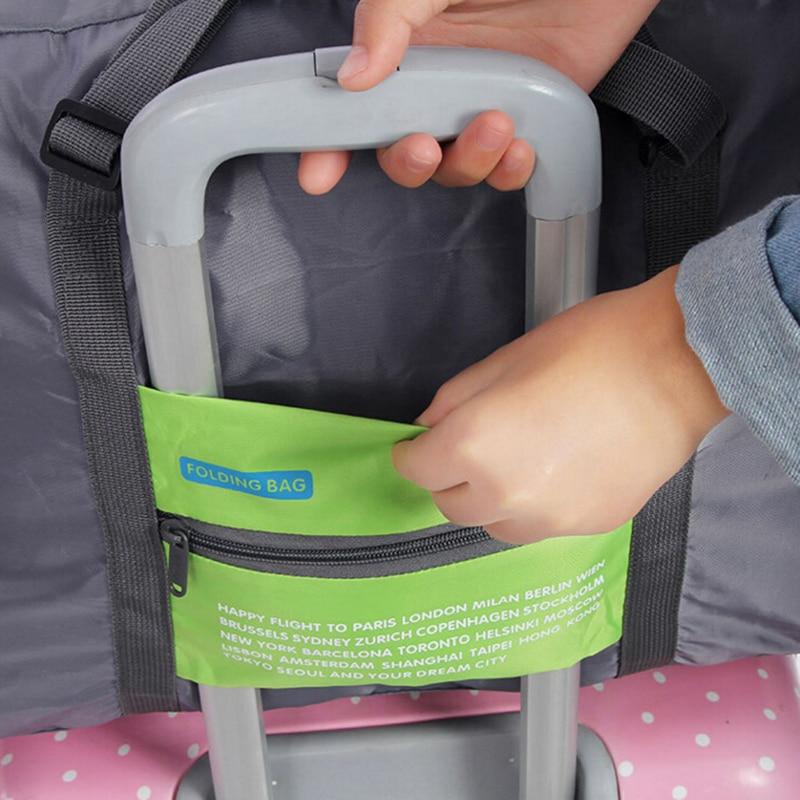 Travel Duffle Bag Нейлон Қаптамасы Cubes Үлкен - Багаж және саяхат сөмкелері - фото 6