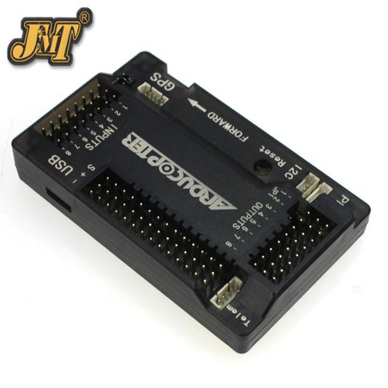 <font><b>APM</b></font> <font><b>2.8</b></font> Multicopter Flight Controller Board 2.5 2.6 <font><b>2.8</b></font> Built-in Compass Straight pin for DIY RC Drone Quadcopter Ardupilot image
